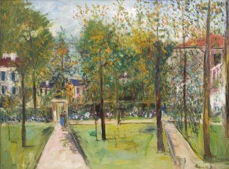 Maurice Utrillo – Le Parc de M. et Mme Utrillo au Vésinet