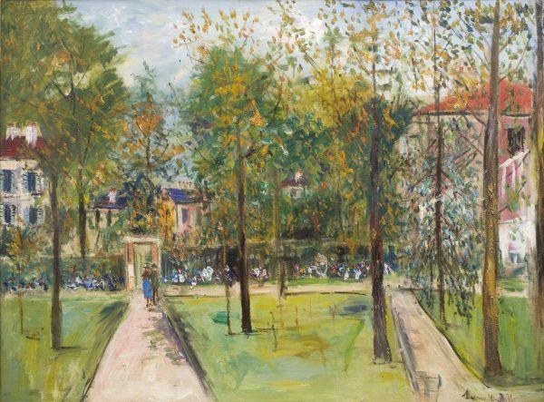 Le Parc de M. et Mme Utrillo au Vésinet - No Frame