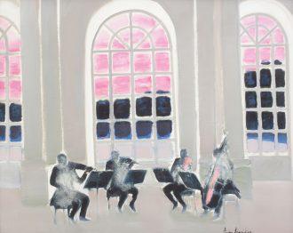 André Brasilier – Musique à Versailles