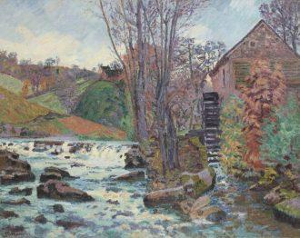 Armand Guillaumin – Le Moulin Bouchardon à Crozant