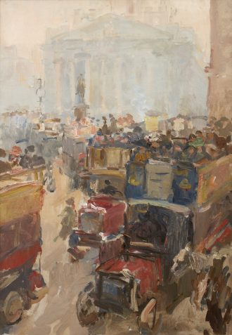 Isaac Israels – The Stock Exchange, London