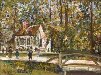 Maurice Utrillo – Versailles – Parc du Petit Trianon – Le Boudoir